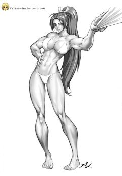 Muscle Mai -Felsus by elee0228