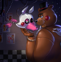 FNAF - In the Afterhours by Atlas-White