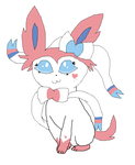 Sylveon Oc: Cuppie by cottoncloudyfilly
