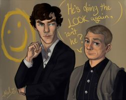 Let's Draw Sherlock by Melatovnik