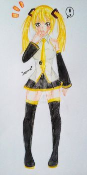 Vocaloid Lucy?! by Yumii-chi