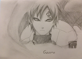 Gaara by Darkkitty123