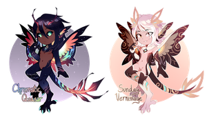 [closed] Serafin Collab Auction!! by Sacchim