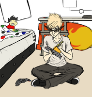 31 Day Homestuck Fanart Challenge- day 2 by Eritcha