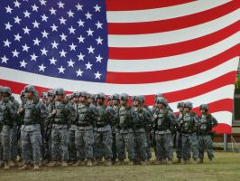 US Army Men and Woman by missy61886