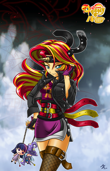 fan Sunset Shimmer by mauroz