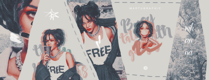 Timeline Rihanna by MartuGraphic