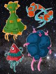 Space Creatures by D3a