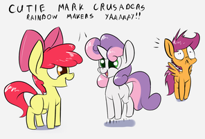CMC Rainbow Makers YAY by Underpable