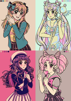Color Palettes by AikasCupcake
