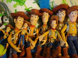 My Sheriff Woody Collection by spidyphan2