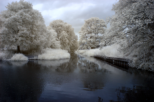 Canal in Infrared by bmh1