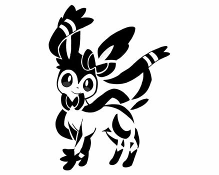 Sylveon Tattoo by Sparky-2000