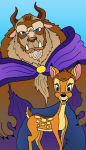 Bambi and The Beast by Lordwormm