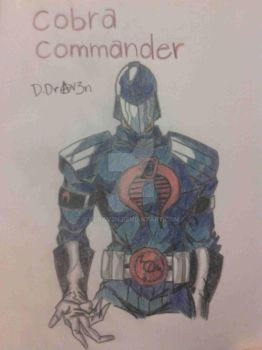 Cobra Commander by DDrAv3n