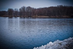 Spring River Thaw by ambrotos