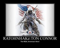 Ratohnhake':ton Connor--Assassin's Creed III by XPvtCabooseX