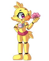Toy Chica by Weebleamy