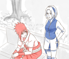 SasuSaku: Switched personalities by steampunkskulls