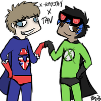 X-RayJay And Tav by Star-Filled-Syringes