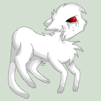 Mer the ghast cat ICON COMMISHION by dovepaw3000