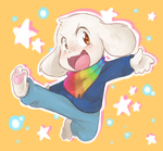 storyshift Asriel by thegreatrouge