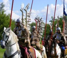 Polish Winged hussars XVII c. by Quenta-Silmarillion
