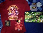 Things I bought at Anime Expo '15 by htfman114