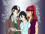 #Selfie, #FamilyPhoto, #Whats up with Renji's face by Micnic123