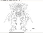 Transformers OC WIP by Arrancarfighter