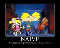 Hey Arnold Motivational by saxybandgeek