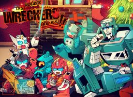 Wrecker babies: Christmas by c0ralus