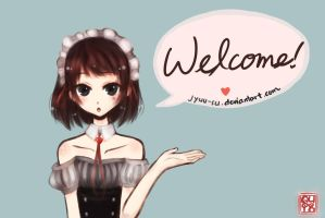 Welcome Banner by jyuu-su