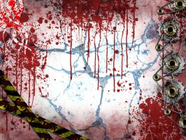 Bloody Wallpaper by supersik