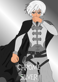 RWBY OC - Chrome by Shadarkness