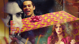 Teen Wolf Lidia and Stiles by byCreation
