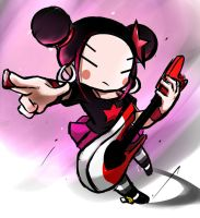 punk pucca by GaruGiroSonicShadow