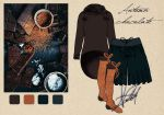 Sketch Look Autumn Chocolate by verdecasa