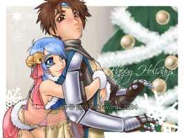 RO christmas picture LATE by buki