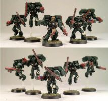 8th Assault Squad, 4th Company. 1st Legion by Elmo9141