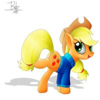 Winter Applejack by SpitfireSparkle1