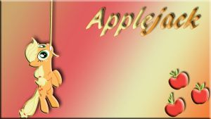Applejack Wallpaper by schocky