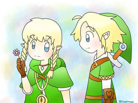 Link and Linkle  by soyulmayo