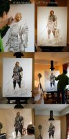 Painting stages by Awtew