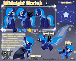 Midnight Sketch's reference sheet by xXNovaNepsXx
