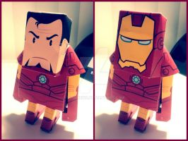 AVENGERS: IRONMAN PAPER TOY by lianne123