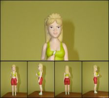 Luanne Platter Action Figure by Yeldarb86