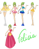 WINX: FELICIA FAIRY OF THE WIND ESSENCE by caboulla