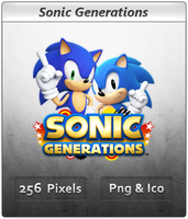 Sonic Generations - Icon by Crussong
