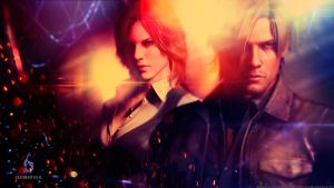 Resident Evil 6 wallpaper by De-monVarela